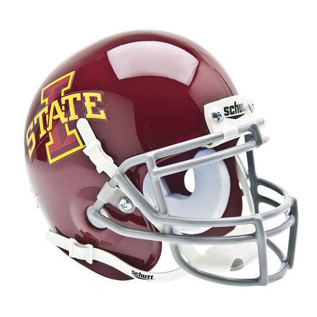 Image For Authentic Mini Cardinal I-State Helmet