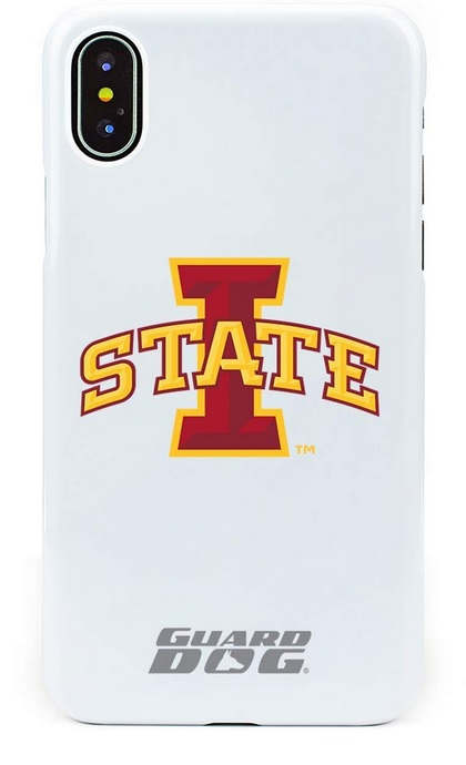 Image For iPhone X/XS I-State Guard Dog Phone Case White