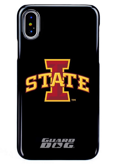 Image For iPhone X/XS I-State Guard Dog Phone Case Black