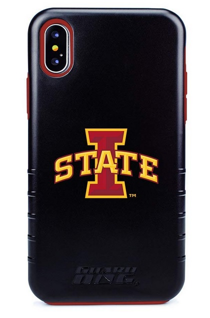 Image For iPhone X/XS I-State Guard Dog Hybrid Phone Case Black
