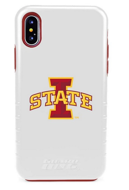 Image For iPhone X/XS I-State Guard Dog Hybrid Phone Case White