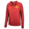 Image for Nike® Women's 1/4 Zip Sweatshirt (Cardinal)