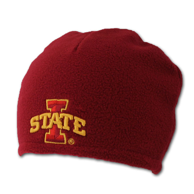 Image For I-State Fleece Stocking Cap