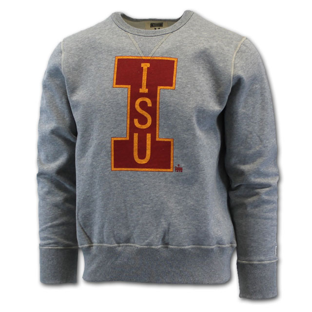 "Image For Tailgate® Big ""I"" ISU Crew Neck Sweatshirt"