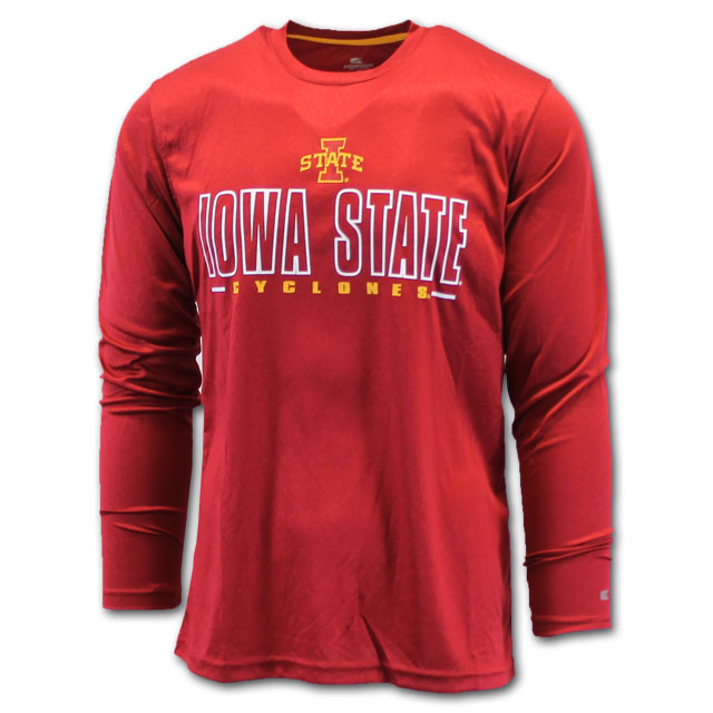 Image For Colosseum® Iowa State Poly Long Sleeve