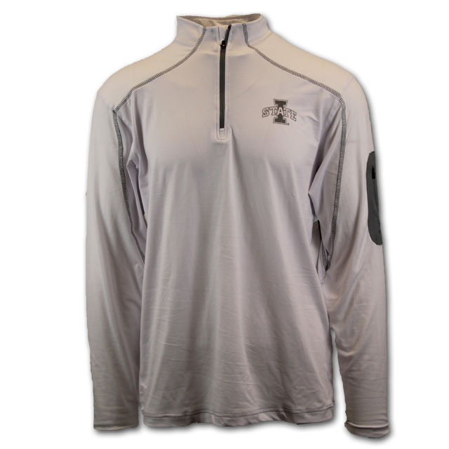 Image For White I-State 1/4 Zip