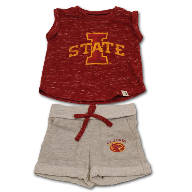 Cover Image For Colosseum® Infant I-State Girl Short Sleeve Set *WAS $34.99