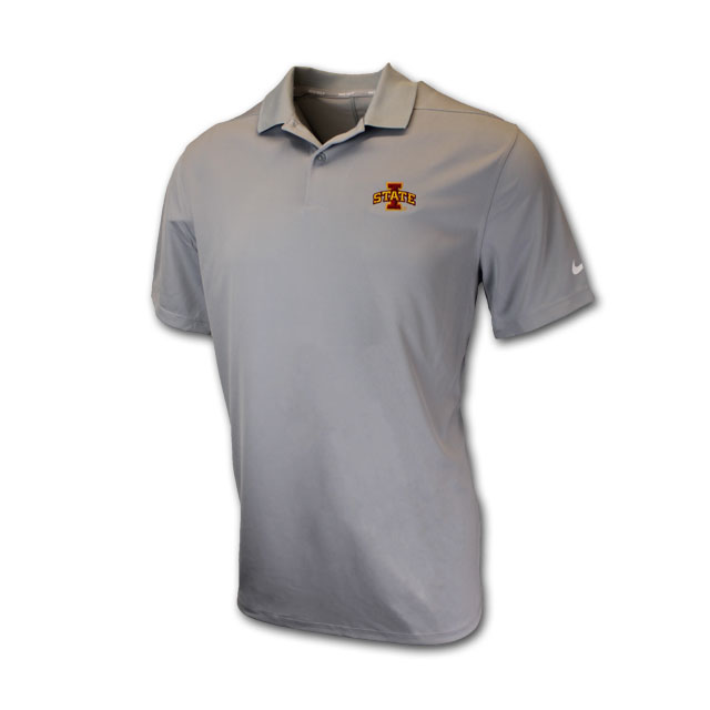 Image For Nike® Gray Golf I-State Polo