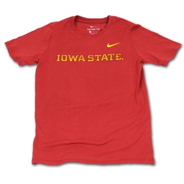 Image For Nike® Cardinal Youth Iowa State T-Shirt