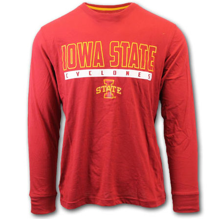 Image For Colosseum® Iowa State Cyclones T-Shirt* <i>WAS $26.99</i>