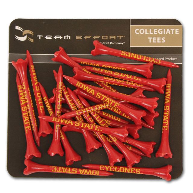 Image For Iowa State 40 Pack Golf Tees