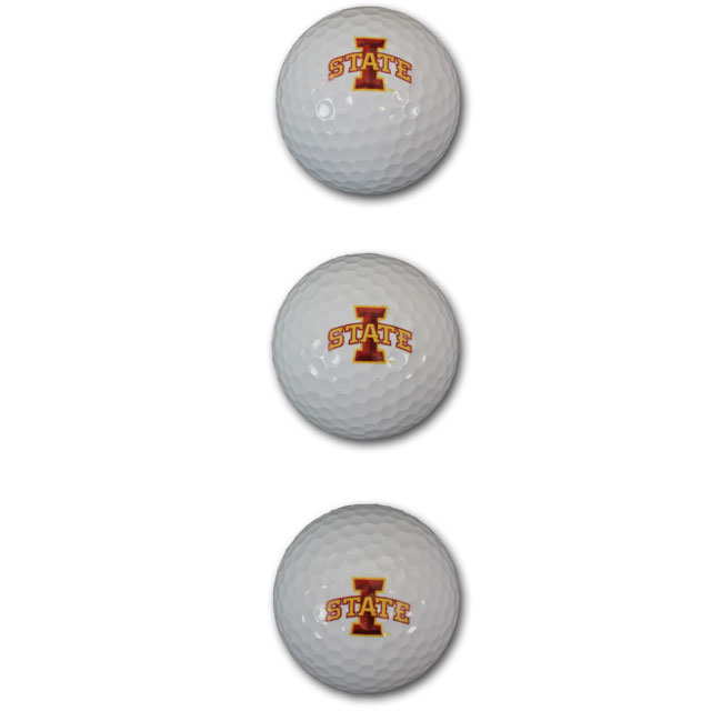 Image For I-State Sleeve of 3 Golf Balls