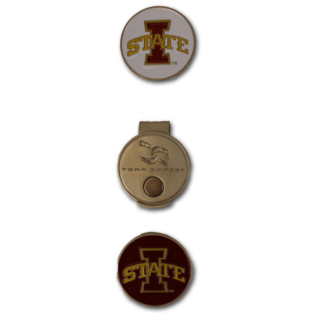 Image For Golf Hat Clip with Ball Markers