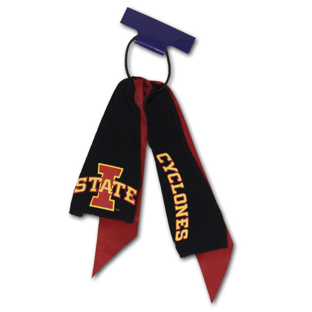 Image For Iowa State Ponytail Holder