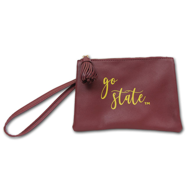 Image For Iowa State Wristlet