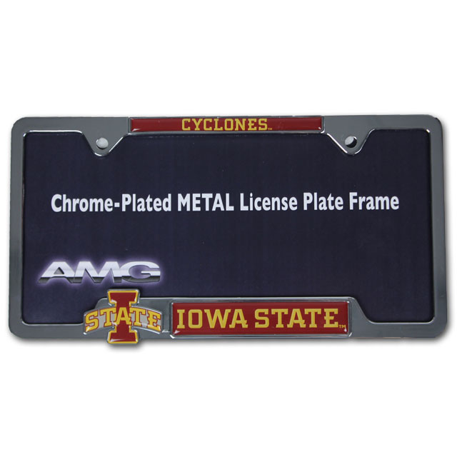 Image For Cyclones License Plate Frame