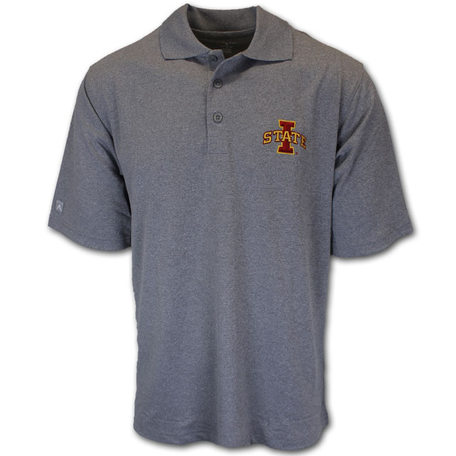 Image For Grey Polo