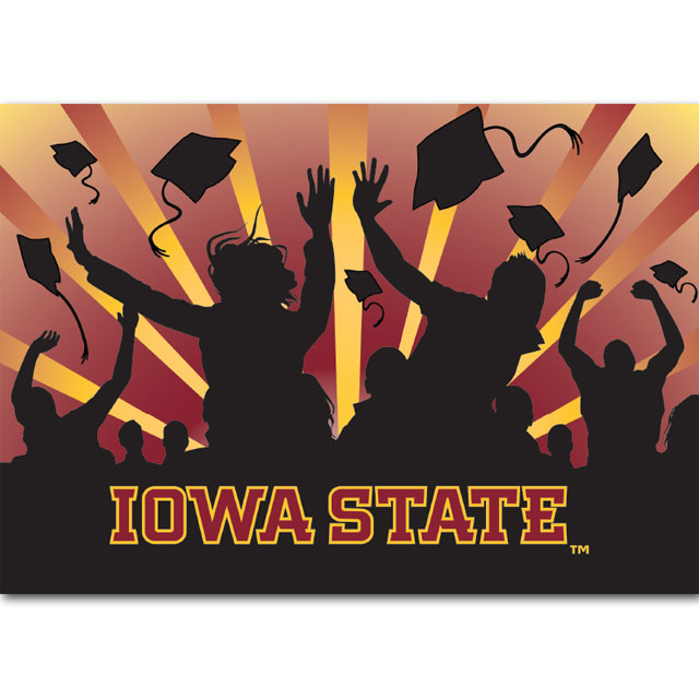 Image For Iowa State Graduation Card