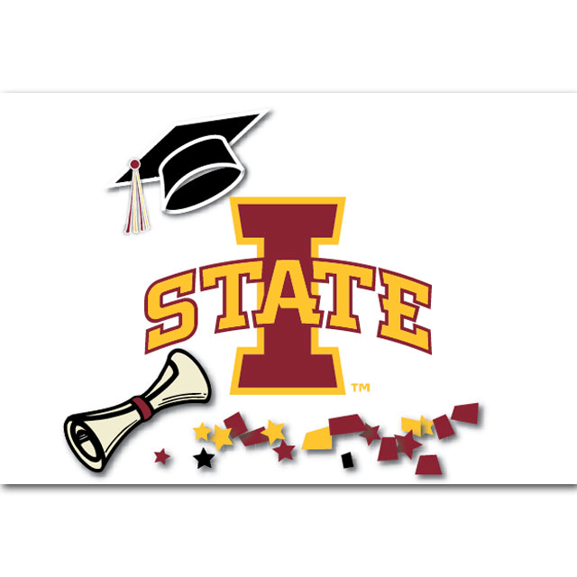 Cover Image For I-State Graduation Card