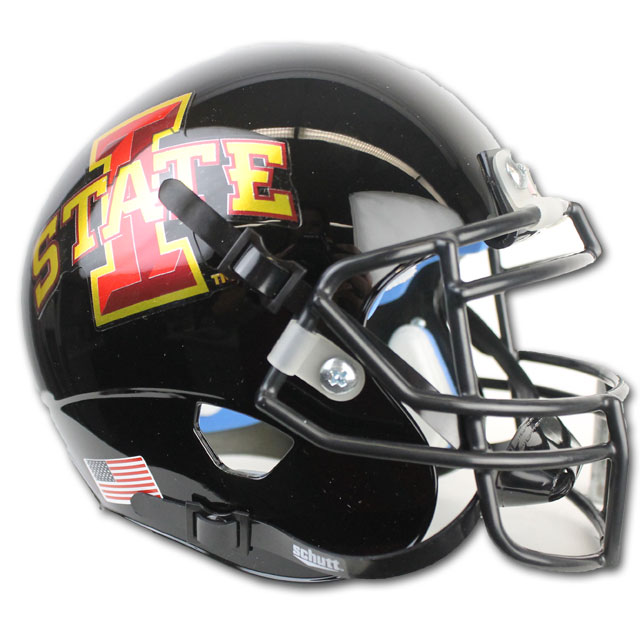 Image For Authentic Mini I-State Helmet (Black)