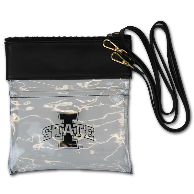 Cover Image For Black Clear I-State Crossbody