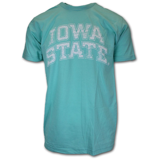 Image For Aqua Iowa State T-Shirt