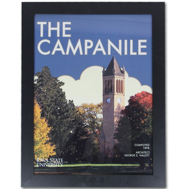 Image For 13x16 Framed Campanile