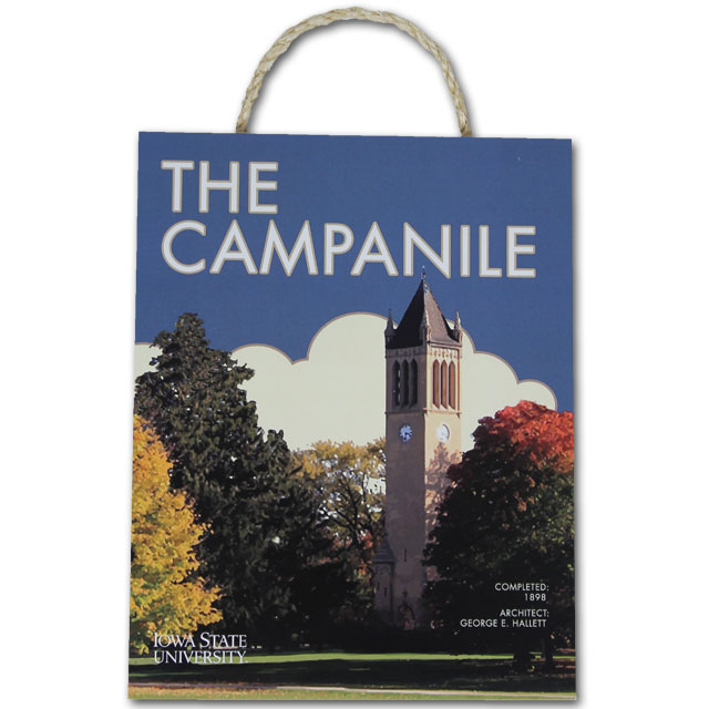 Cover Image For Campanile Painting Plaque
