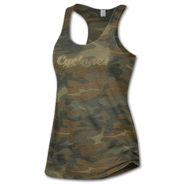 Image For Women's Camo Tank *WAS $26.99