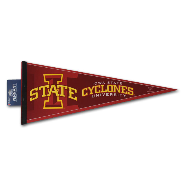 Cover Image For Iowa State University Cyclones Pennant