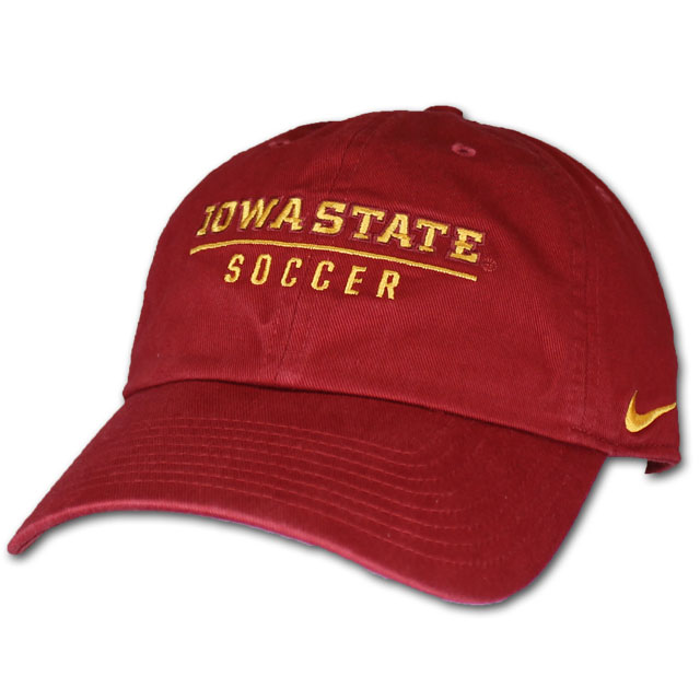Cover Image For Nike® Iowa State Soccer Cap