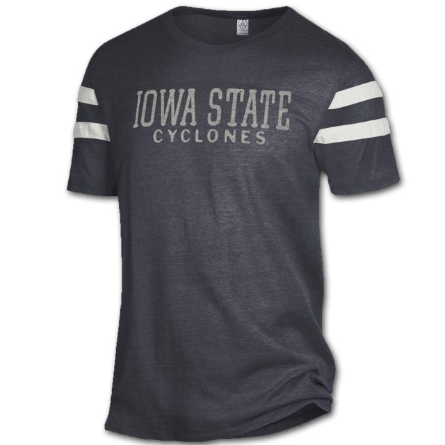 Image For Black Iowa State Cyclones T-Shirt