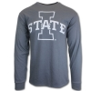 Image for I-State Long Sleeve T-Shirt (Charcoal)