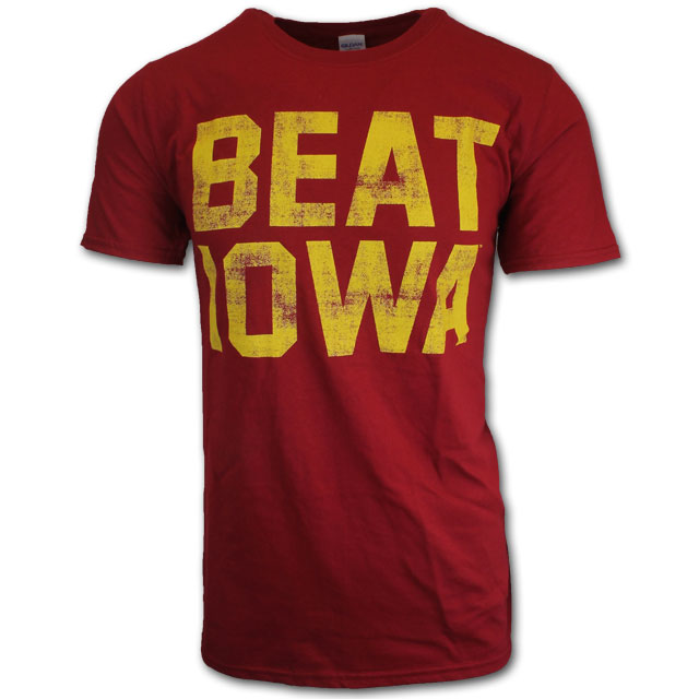 Image For Cardinal Beat Iowa T-Shirt