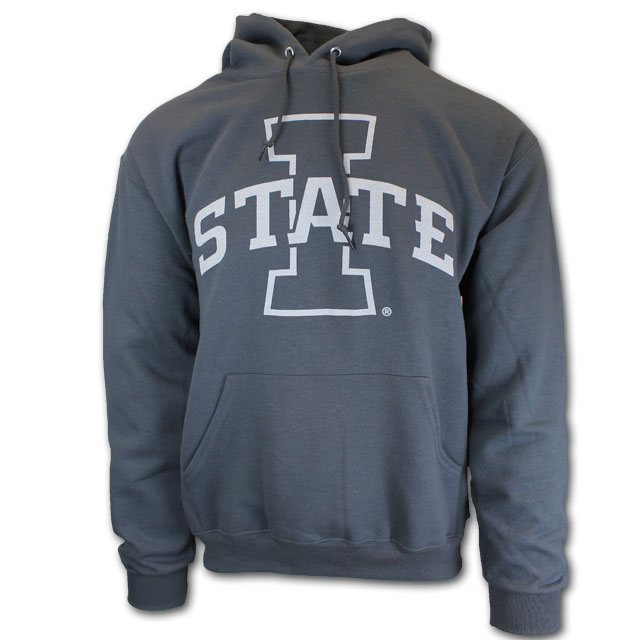 Image For Charcoal I-State Hoodie