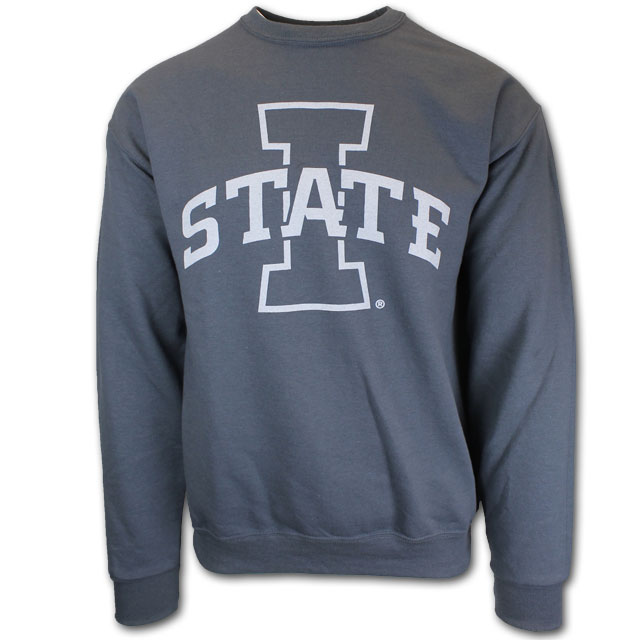Image For Charcoal I-State Crewneck Sweatshirt