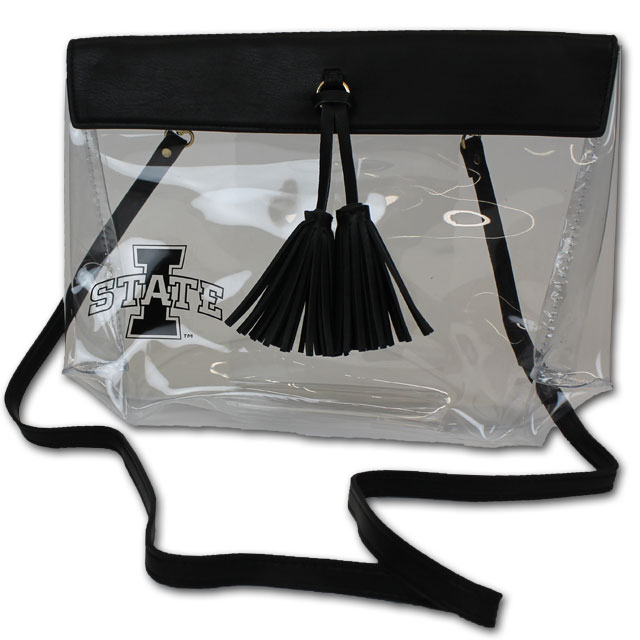 Image For Clear Tassel Purse