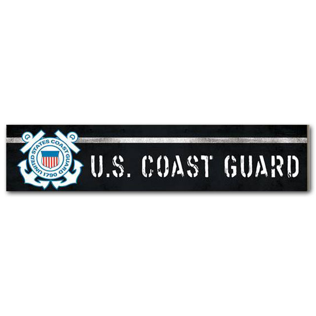 Image For U.S. Coast Guard Sign *WAS $11.99
