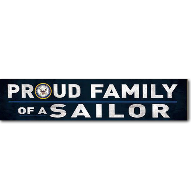 Image For Family of a Sailor Sign