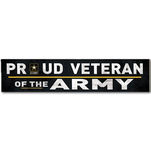 Image For Veteran of the Army Sign *WAS $11.99