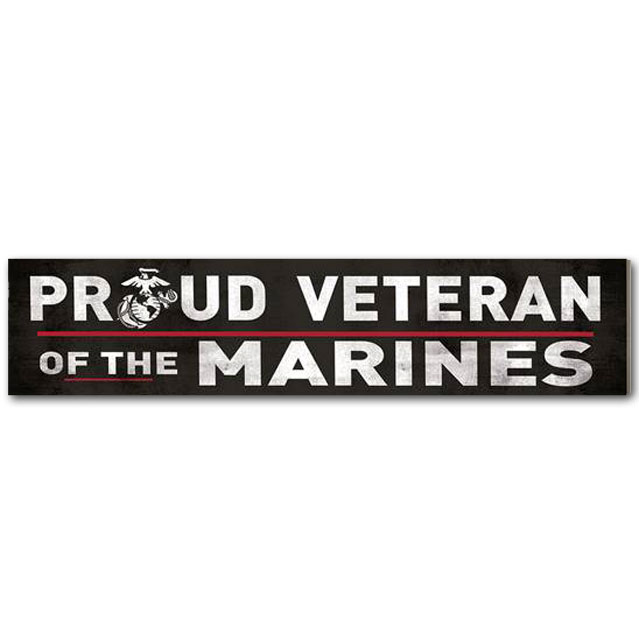 Image For Veteran of the Marines Sign *WAS $11.99