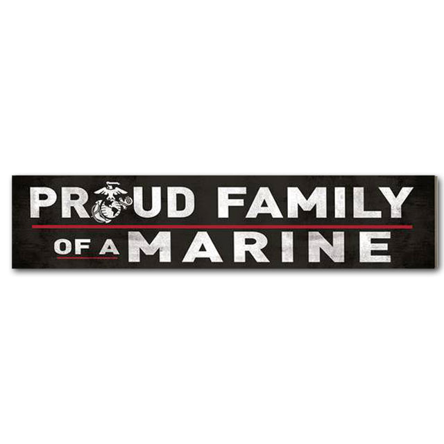 Image For Family of a Marine Sign