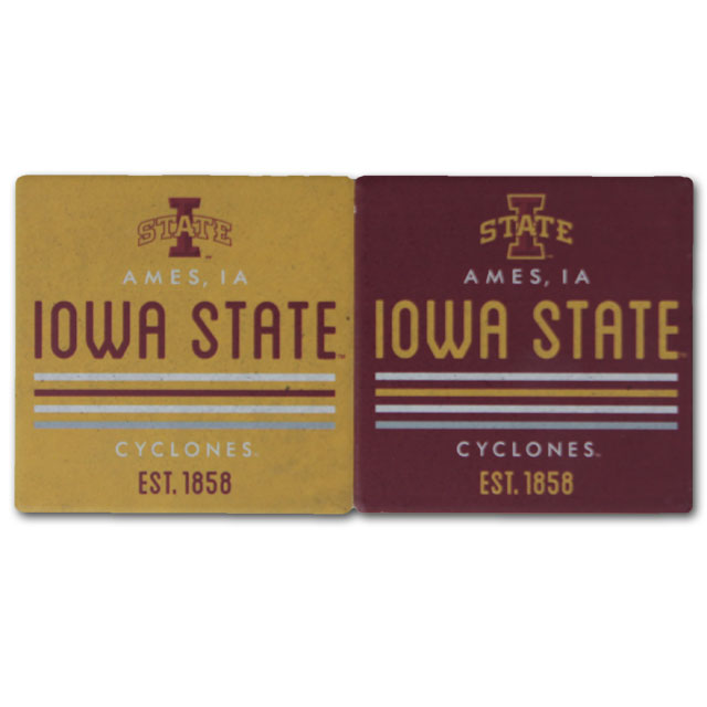 Image For 4 Pack Iowa State Coasters