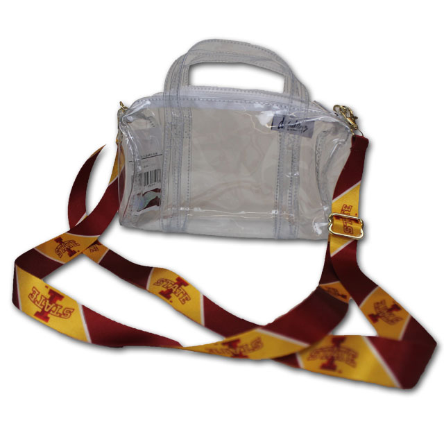 Image For I-State Shoulder Strap Clear Stadium Purse