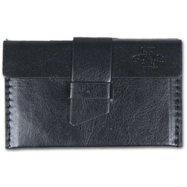 Cover Image For I-State Leather Card Case (Black)