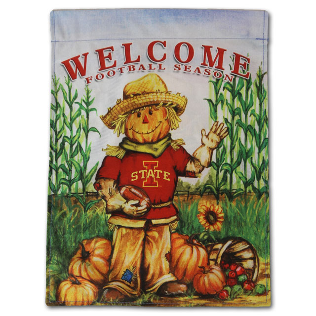 Image For Football Season Garden Flag