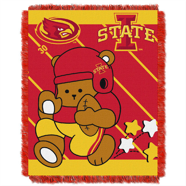 "Cover Image For I-State 36"" x 46"" Baby Blanket"