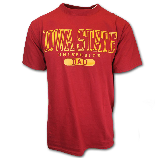 Cover Image For Iowa State Dad T-Shirt