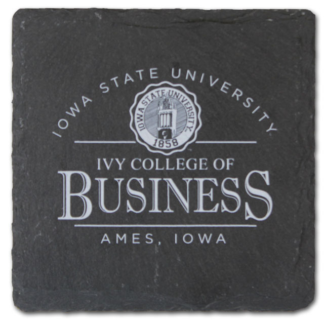 Cover Image For Slate Ivy College of Business Coaster