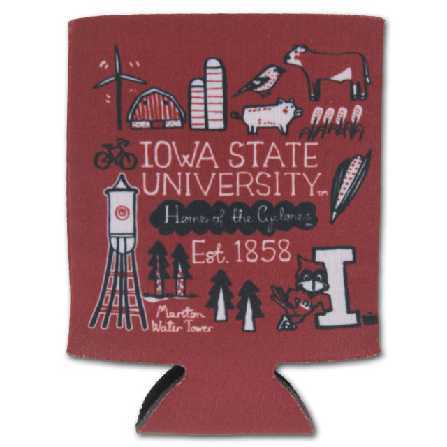 Cover Image For Iowa State Koozie